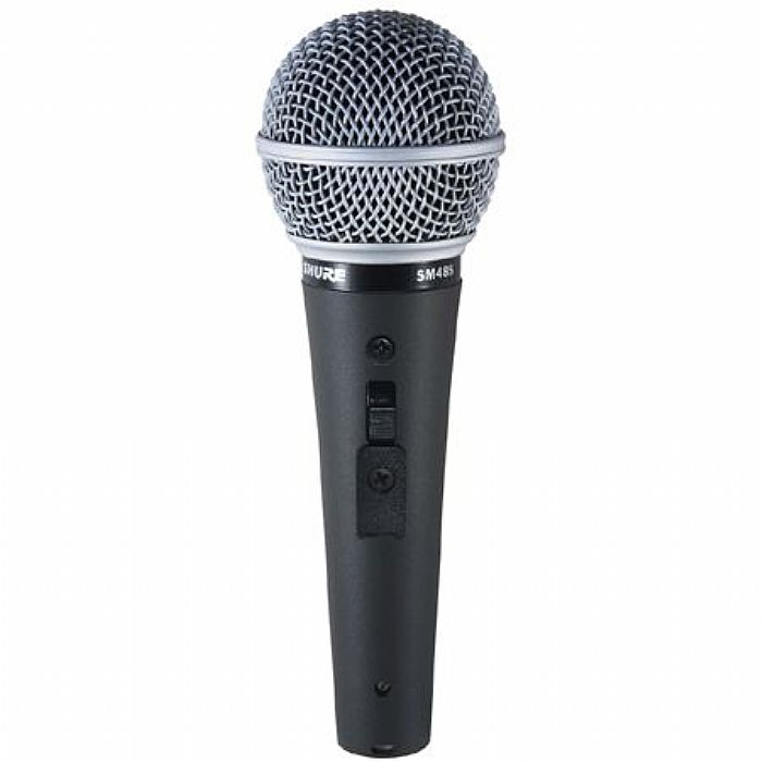 SHURE - Shure SM48S LC Cardioid Dynamic Vocal Microphone with Switch