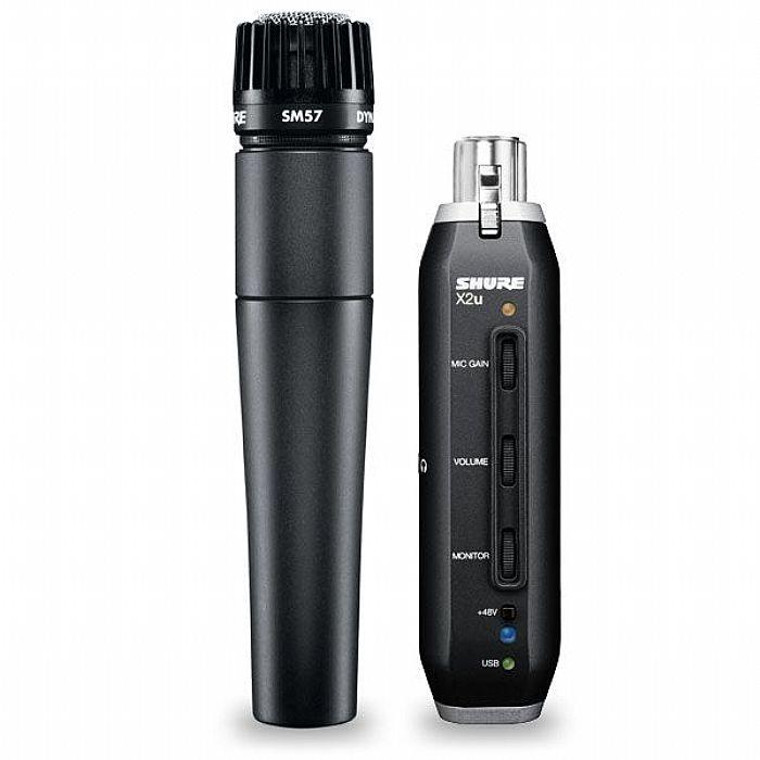 SHURE - Shure SM57 Microphone & X2U USB Adapter Bundle