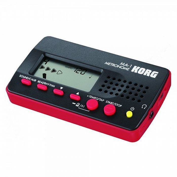 KORG - Korg MA1 Multi Function Digital Metronome (black & red)