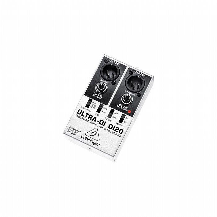 BEHRINGER - Behringer DI20 Ultra DI Box & Splitter