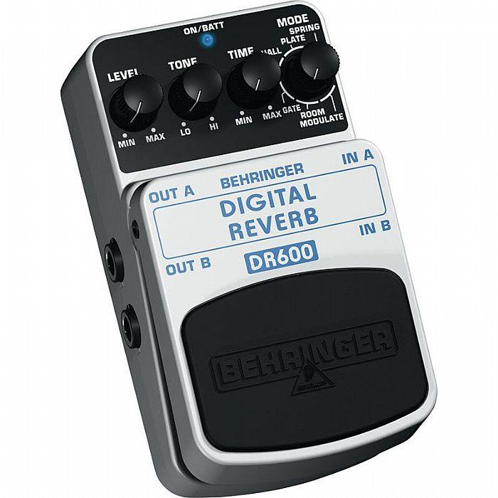 BEHRINGER - Behringer DR600 Digital Stereo Reverb Effects Pedal