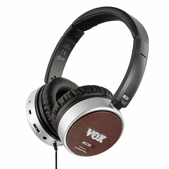 VOX - Vox amPhones AC30 Active Guitar Amp Headphones (brown)