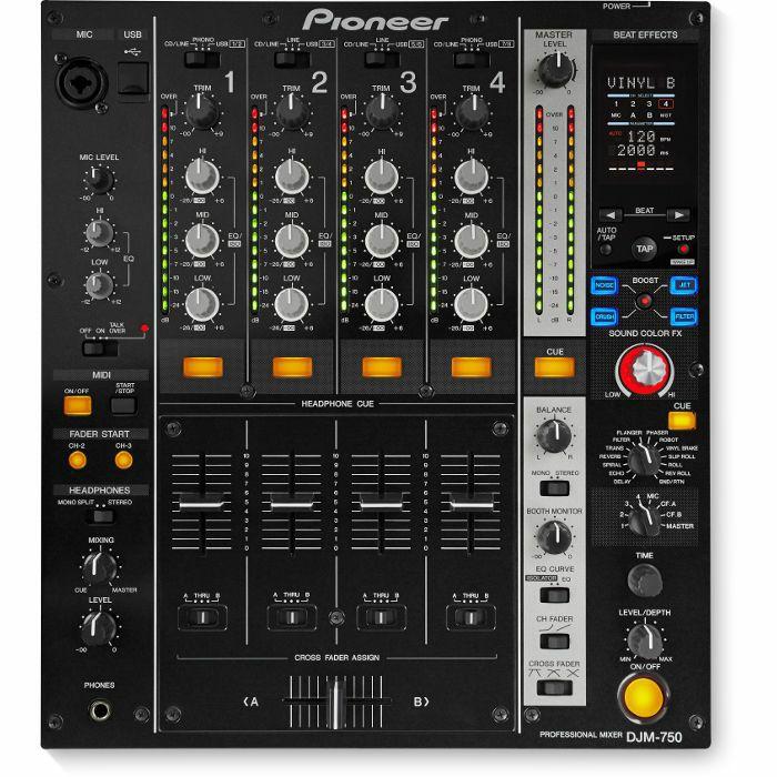 PIONEER - Pioneer DJM750 Digital DJ Mixer (black)