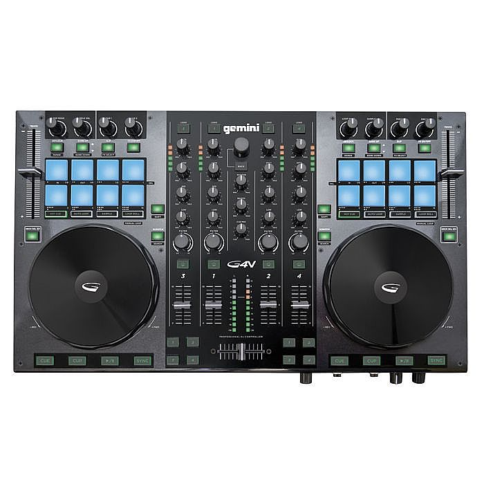 GEMINI - Gemini G4V 4 Channel Virtual DJ Controller