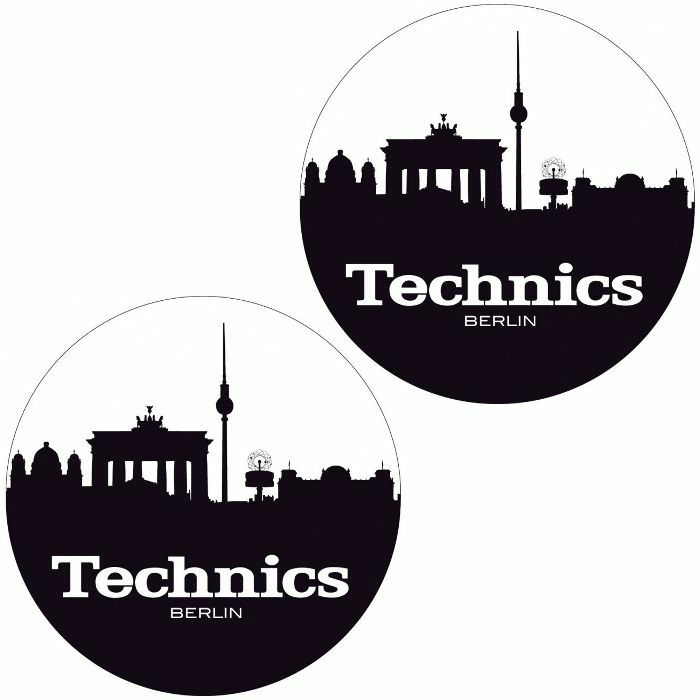 TECHNICS - Technics Berlin Slipmats (pair, black & white)