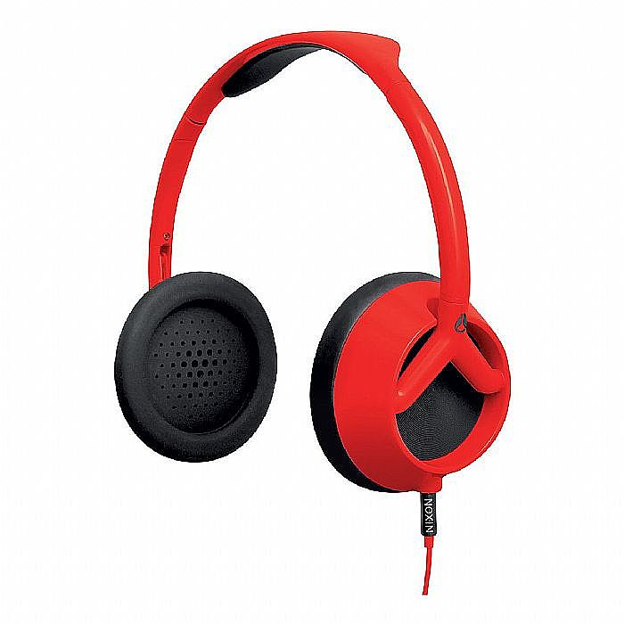 NIXON - Nixon The Trooper Headphones (red pepper/black)