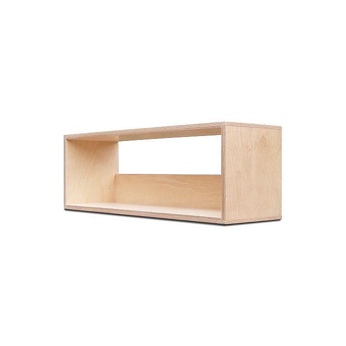 Icube Icube S300 7 Vinyl Record Storage Box Birch Wood