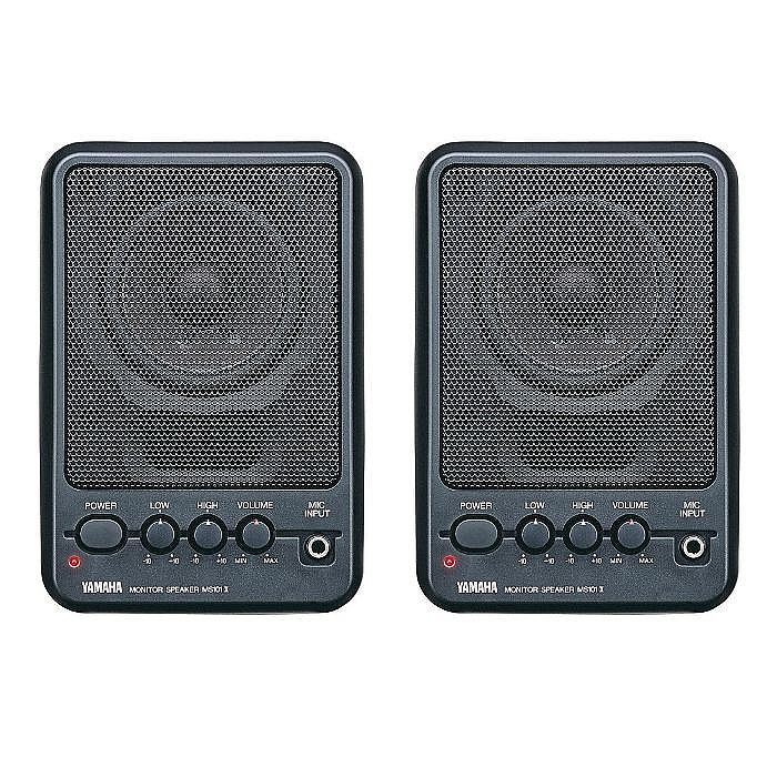 Yamaha yamaha ms101 iii powered desktop monitor speakers for Yamaha powered monitor speakers