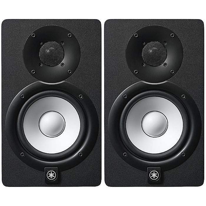 yamaha yamaha hs5 powered studio monitor speakers black ForYamaha Powered Monitor Speakers