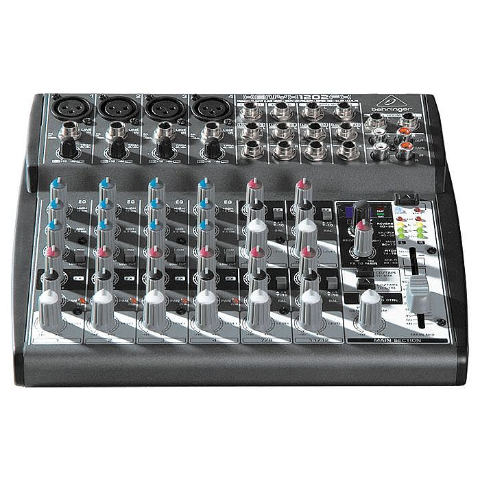 BEHRINGER - Behringer 1202FX Xenyx Premium 12 Input 2 Bus Mixer