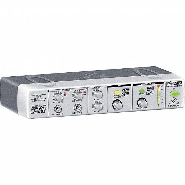 BEHRINGER - Behringer MiniMIX MIX800 Ultra Compact Karaoke Processor