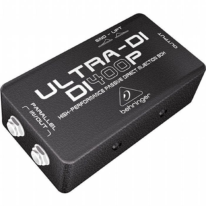 BEHRINGER - Behringer DI400P Ultra DI High Performance Passive DI Box
