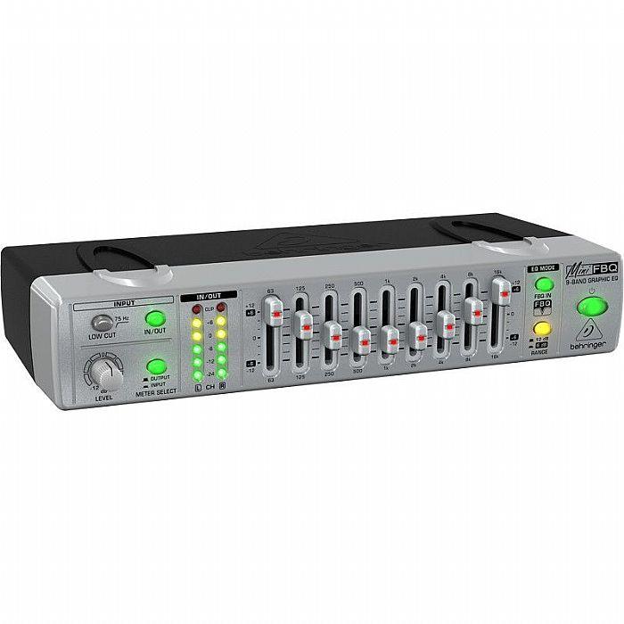 BEHRINGER - Behringer FBQ800 MiniFBQ Ultra Compact 9 Band Graphic Equalizer