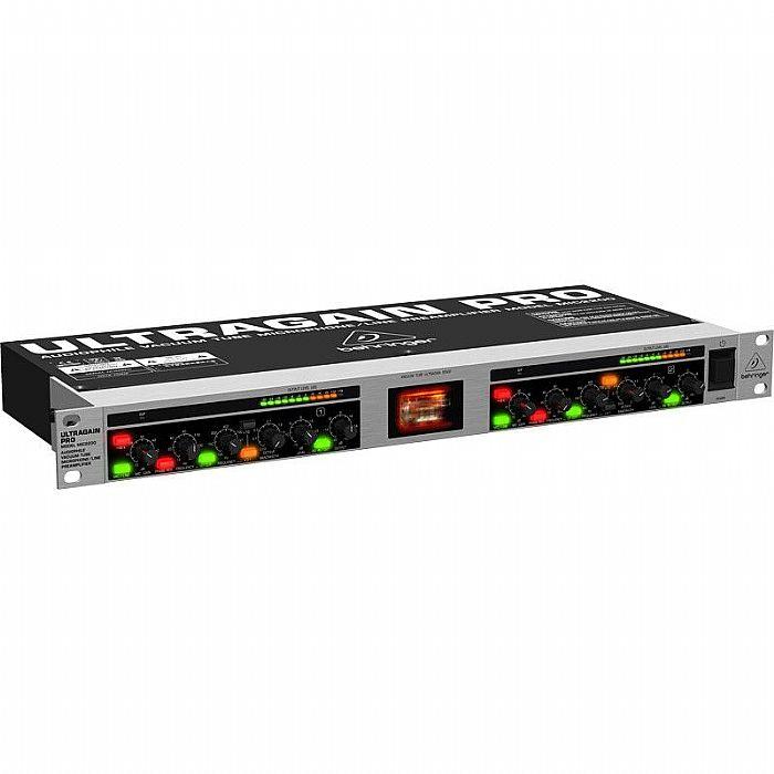 BEHRINGER - Behringer Ultragain Pro MIC2200 Audiophile Vacuum Tube Microphone/Line Preamplifier (Rackmount)