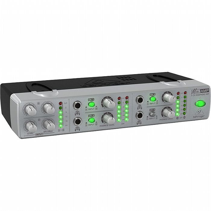 BEHRINGER - Behringer AMP800 Mini Amp Ultra Compact 4 Channel Stereo Headphone Amplifier