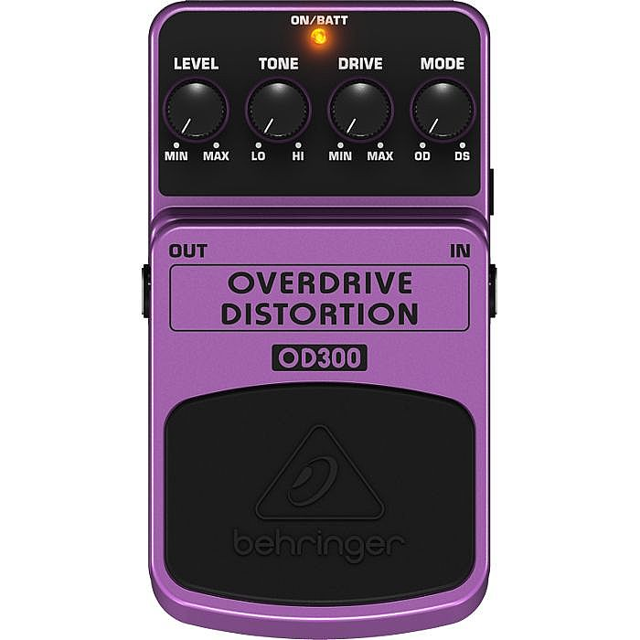 BEHRINGER - Behringer OD300 Overdrive/Distortion 2 Mode Overdrive/Distortion Effects Pedal