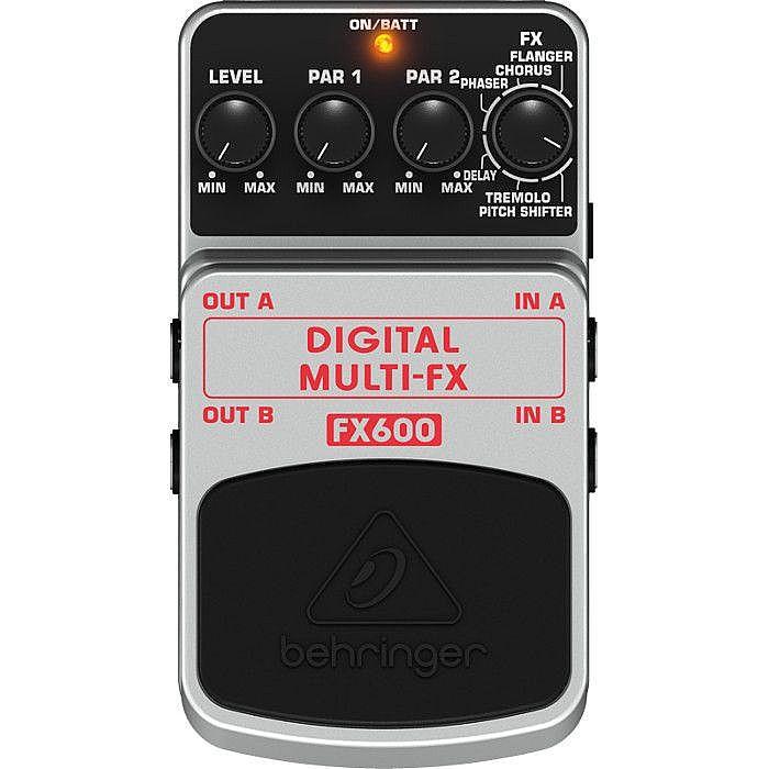 BEHRINGER - Behringer FX600 Digital Multi FX Stereo Effects Pedal
