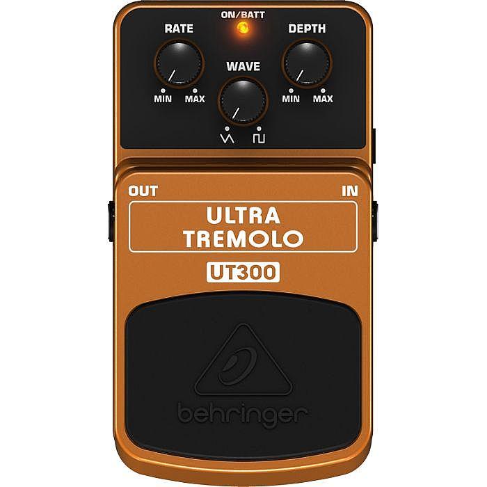 BEHRINGER - Behringer UT300 Ultra Tremolo Classic Tremolo Effects Pedal