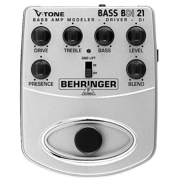 BEHRINGER - Behringer BDI21 V Tone Bass Driver DI Bass Amp Modeller/Direct Recording Preamp/DI Box