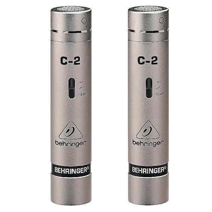 BEHRINGER - Behringer C2 Matched Studio Condenser Microphones