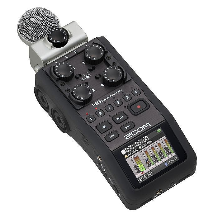 ZOOM - Zoom H6 Handy Recorder With Cubase LE 6 Audio Production Software & 2GB SD Card