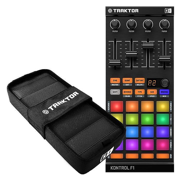 NATIVE INSTRUMENTS - Native Instruments Traktor Kontrol F1 DJ Remix Controller + Kontrol F1 Bag