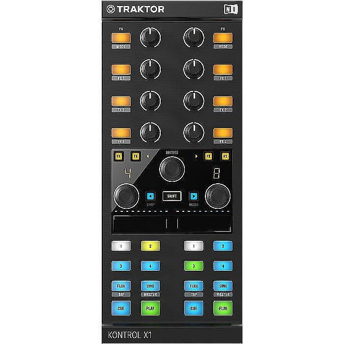 NATIVE INSTRUMENTS - Native Instruments Traktor Kontrol X1 MK2 Performance DJ Controller