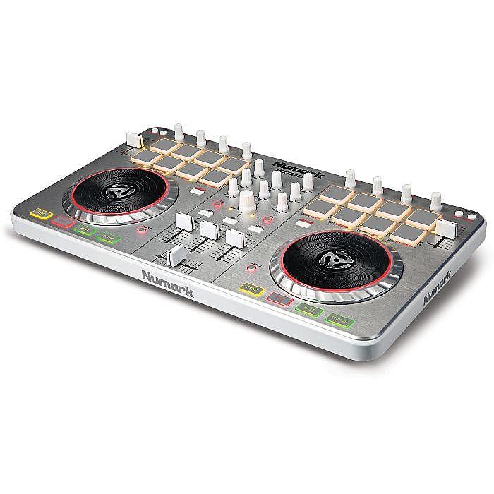 NUMARK Numark Mixtrack Pro II 2 Channel DJ Controller with Audio IO on numark mixtrack pro scratching, numark mixtrack vs mixtrack pro, numark mixtrack pro pitch bend, numark mixtrack pro software,
