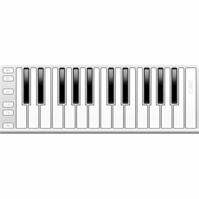 CME - CME Xkey USB MIDI Keyboard (silver)