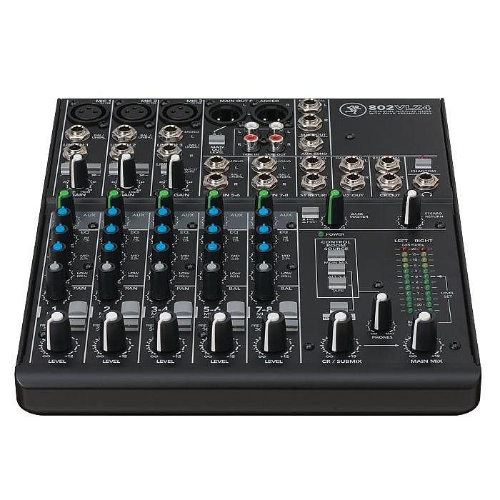 MACKIE - Mackie 802VLZ4 8 Channel Mixer