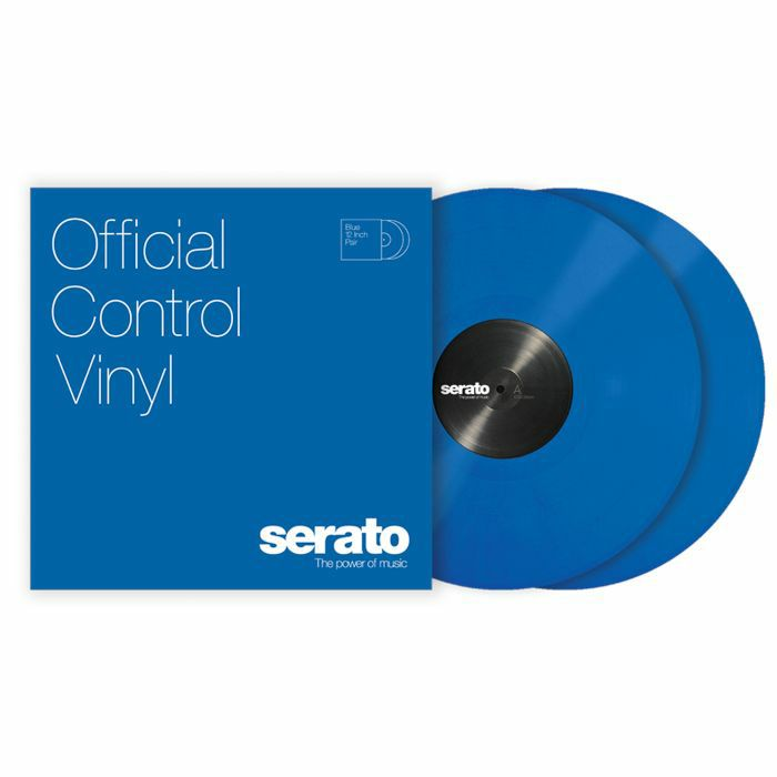 SERATO - Serato Performance Series 12 Inch Control Vinyl (blue, pair)