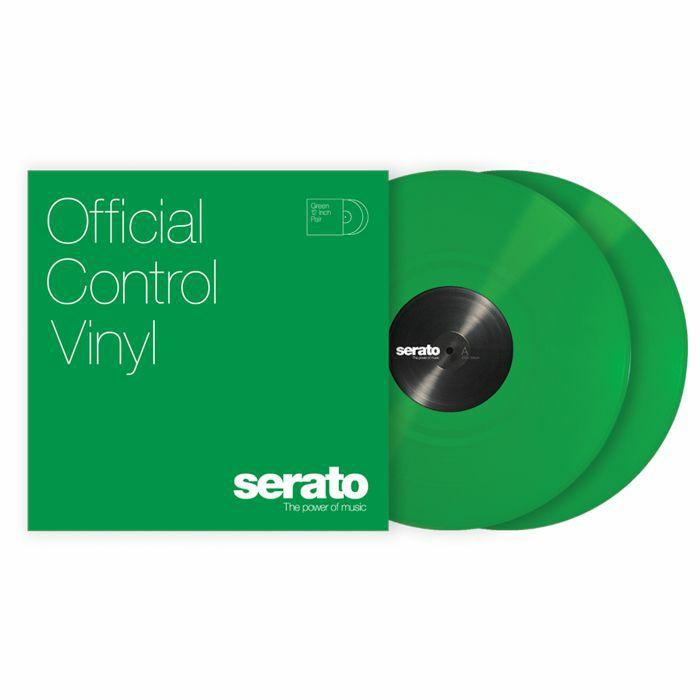SERATO - Serato Standard Colours 12 Inch Control Vinyl (green, pair)