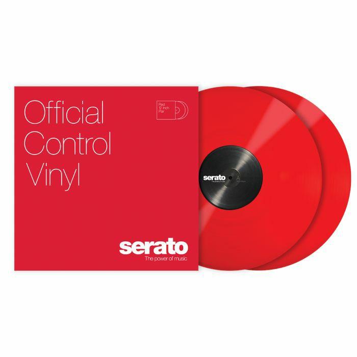 SERATO - Serato Standard Colours 12 Inch Control Vinyl (red, pair)