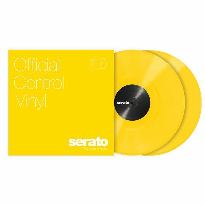 SERATO - Serato Standard Colours 12 Inch Control Vinyl (yellow, pair)