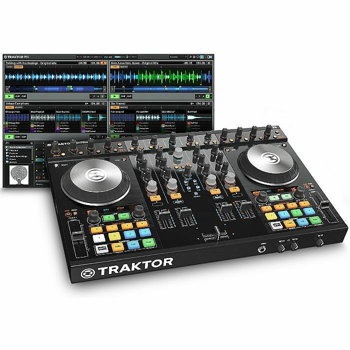 NATIVE INSTRUMENTS - Native Instruments Traktor Kontrol S4 Mk2 DJ Controller + Traktor Pro 2 DJ Software
