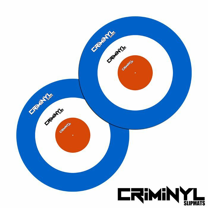 "CRIMINYL - Criminyl Mod 12"" Slipmats (pair)"