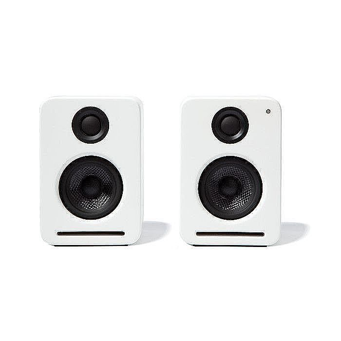 Nocs NS2 Air Monitors Active Speakers With Airplay Streaming From iTunes &  iOS Devices (pair, white) (B-STOCK)