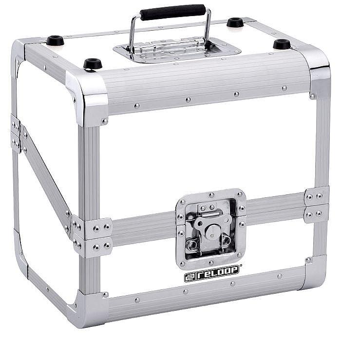 RELOOP - Reloop Club Series 50/50 Slanted 80 12 Inch Vinyl Record Case (white)