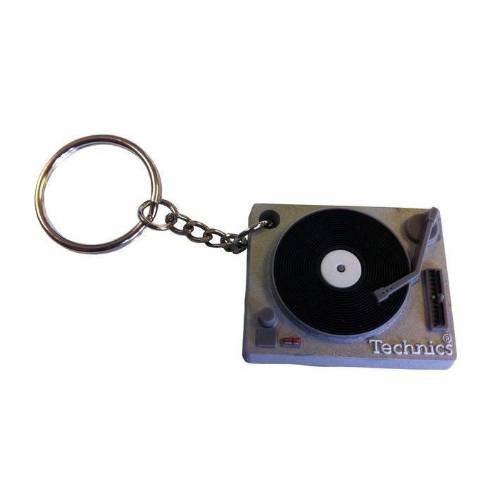 TECHNICS - Technics Deck Keyring (Silver)