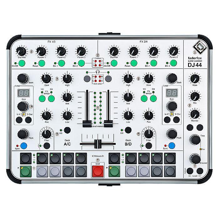 FADERFOX - Faderfox DJ44 Solid Control DJ Controller