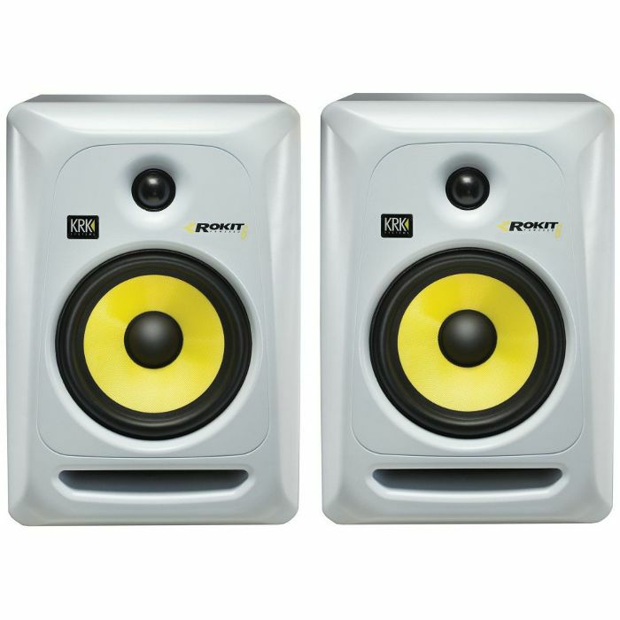 IS513189 01 01 BIG krk krk rokit rp6 g3 active studio monitor speakers (pair, white KRK Rokit 8 at eliteediting.co