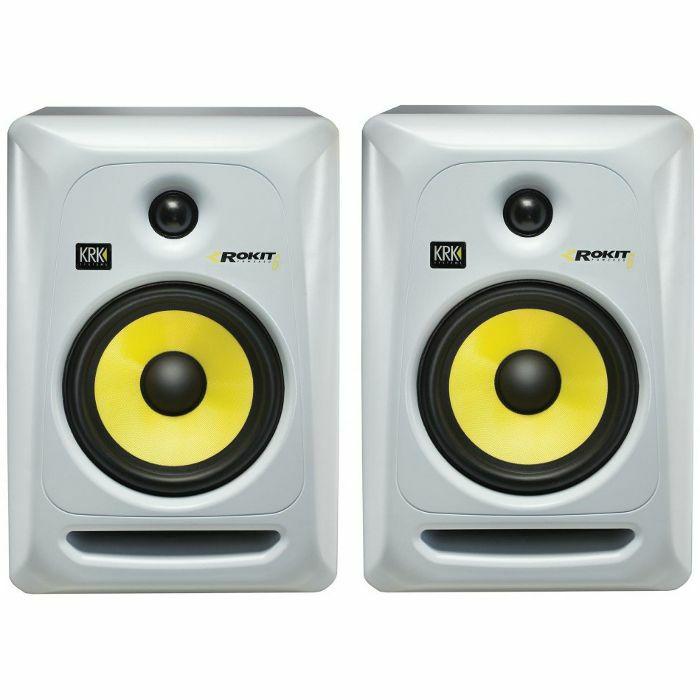 IS513189 01 01 BIG krk krk rokit rp6 g3 active studio monitor speakers (pair, white KRK Rokit 8 at bayanpartner.co