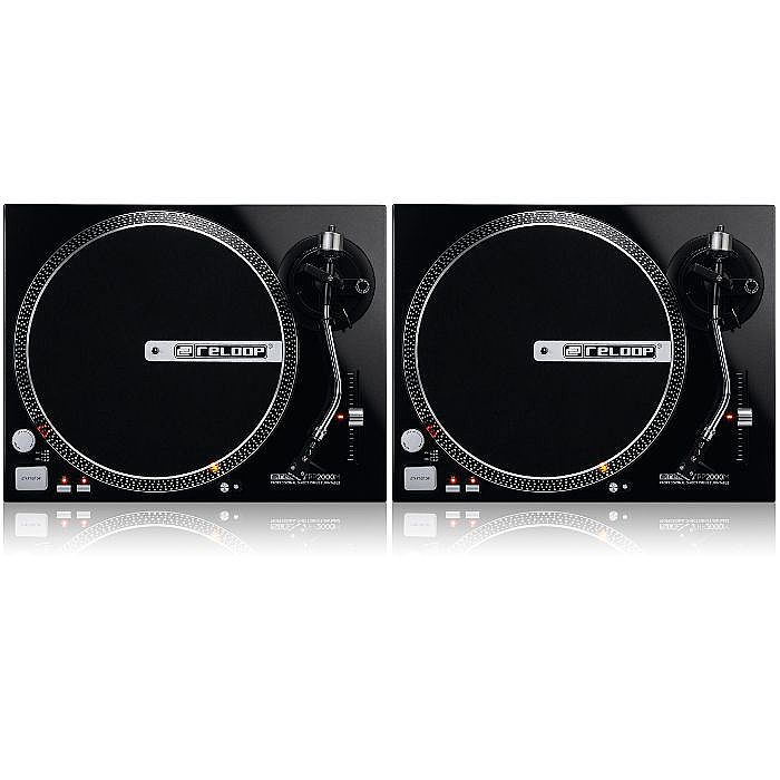 RELOOP - Reloop RP2000M Direct Drive Turntables (pair)