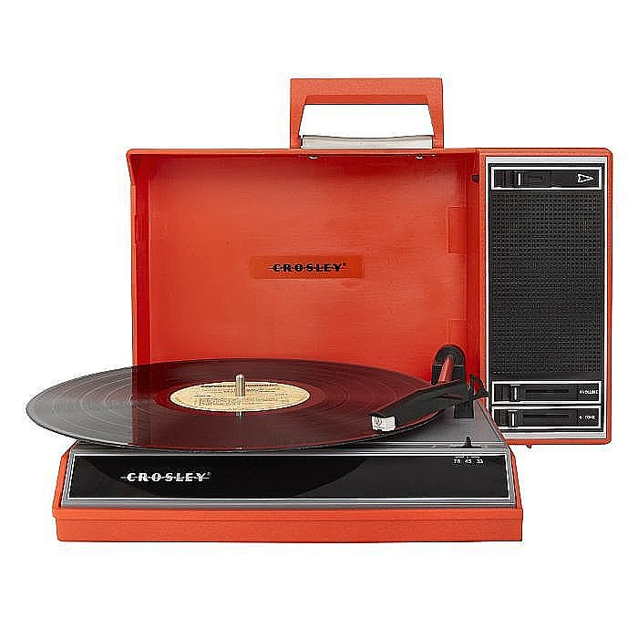 CROSLEY - Crosley CR6016A Spinnerette Portable Turntable (red)