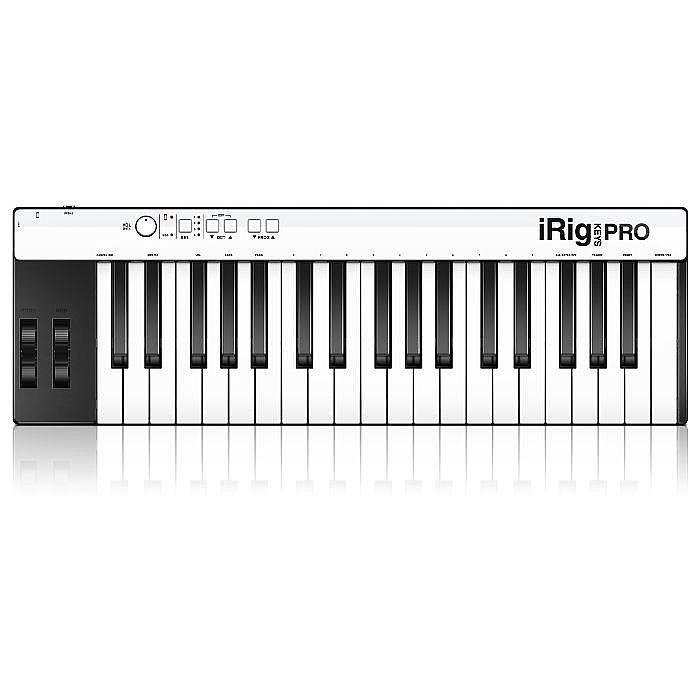 IK MULTIMEDIA - IK Multimedia iRig Keys Pro Keyboard Controller for iPhone iPod Touch iPad & Mac or PC With SampleTank 2L Audio Software