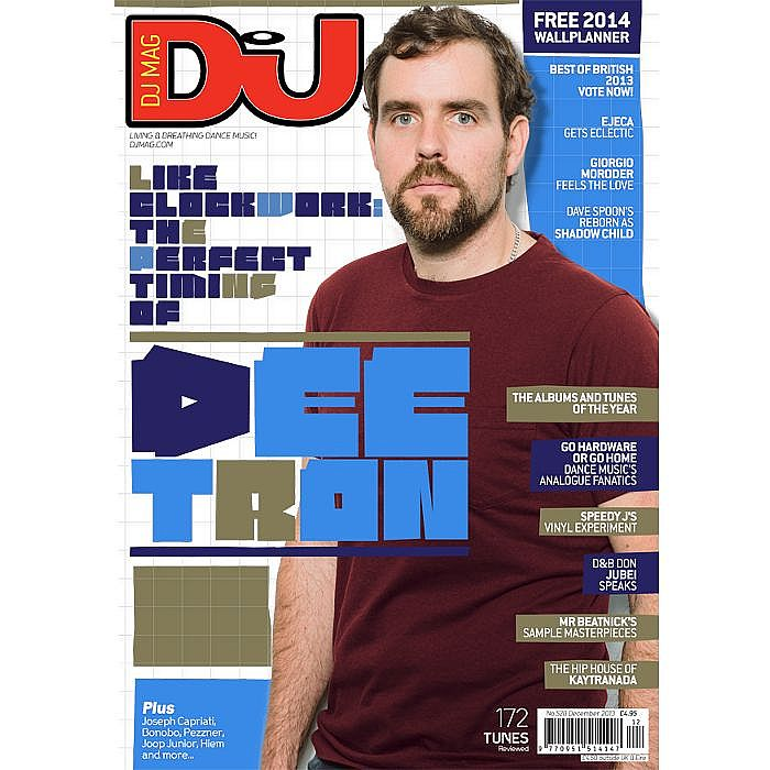 DJ MAGAZINE - DJ Magazine December 2013: #528 Best Of British Edition (with free 2014 calendar)