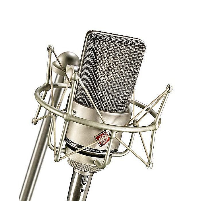NEUMANN - Neumann TLM103 Cardioid Studio Microphone & Shockmount Set (nickel)