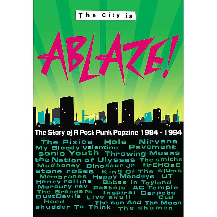ABLAZE, Karren - The City Is Ablaze (limited edition of 500 signed by author and numbered)