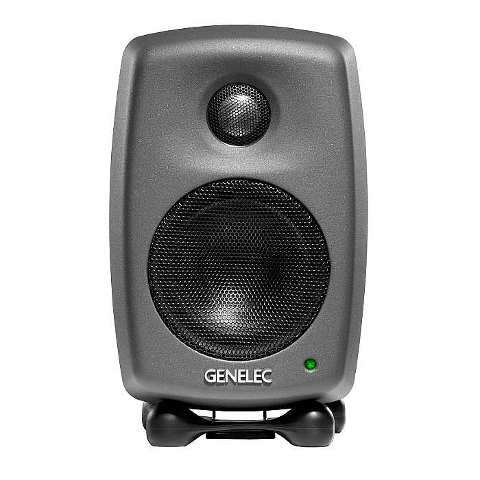 GENELEC - Genelec 8010 APM Biamplified Active Studio Monitor (single, dark grey)