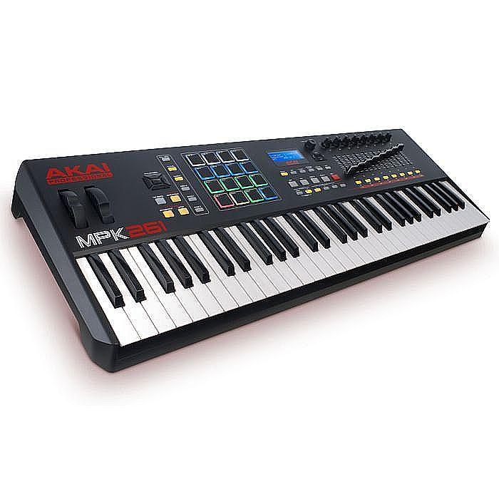 AKAI - Akai MPK261 Performance USB MIDI Pad & Keyboard Controller With Ableton Live Lite Software